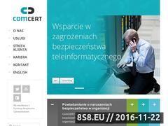Miniaturka domeny www.comcert.pl