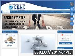 Miniaturka domeny www.come.com.pl