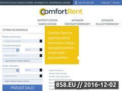 Miniaturka domeny comfortrent.com.pl