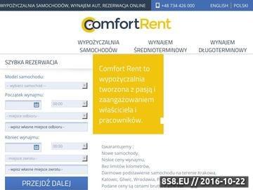 Zrzut strony Wynajem aut Poznań
