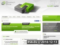 Miniaturka domeny www.compact-code.pl