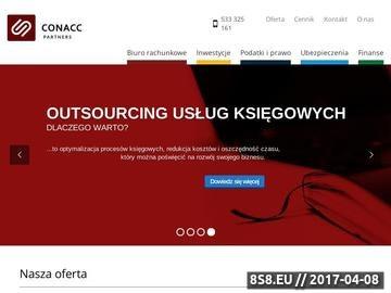Zrzut strony Księgowość Katowice