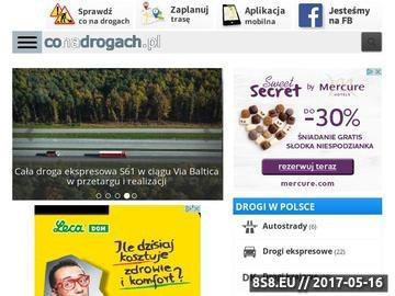 Zrzut strony Wszystko o autostradach i drogach w Polsce