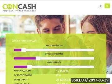 Zrzut strony Pożyczki bez BIK i KRD