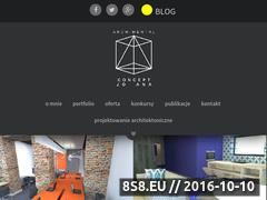 Miniaturka domeny conceptjoana.archimental.com
