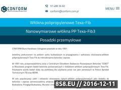 Miniaturka domeny www.conform.com.pl