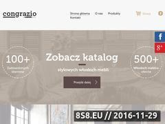 Miniaturka domeny www.congrazio.eu