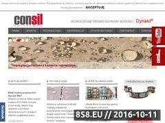 Miniaturka domeny www.consil.com.pl