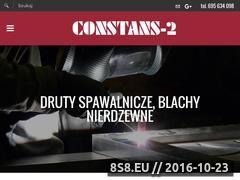 Miniaturka domeny www.constans2.pl
