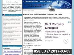 Thumbnail of Credit Website