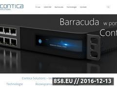 Miniaturka domeny www.contica.pl