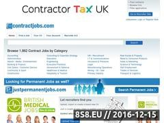 Thumbnail of The first dedicated Job Board for Contractor Website