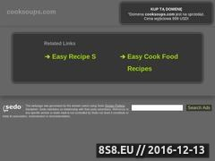 Recipes for Soup Website