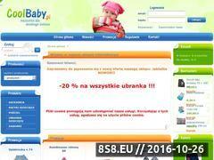 Miniaturka domeny www.coolbaby.pl
