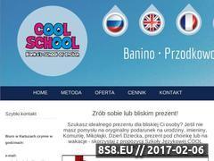 Miniaturka domeny www.coolschool.com.pl