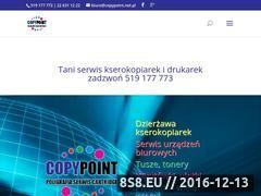Miniaturka domeny www.copypoint.net.pl