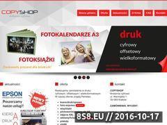 Miniaturka domeny www.copyshop.krakow.pl