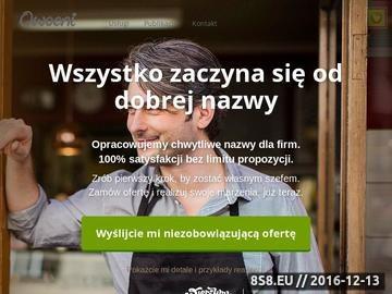 Zrzut strony Copywriting.pl - copywriting, nazwy, teksty reklamowe, artykuły