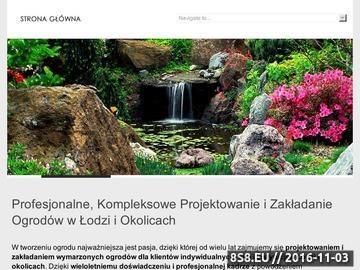 Zrzut strony Projektowanie ogrodów