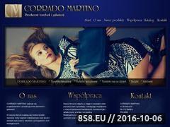 Miniaturka domeny www.corrado-martino.pl