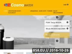 Miniaturka domeny cosmowater.pl