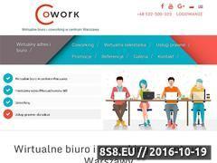 Miniaturka domeny www.cowork.com.pl