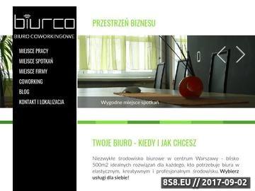 Zrzut strony Coworking w Warszawie - tanie biuro dla wolnych strzelców i mikroprzedsiębiorców