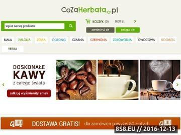Zrzut strony Sklep z smaczną i wysokiej jakości herbatą online