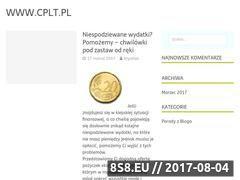 Miniaturka domeny www.cplt.pl