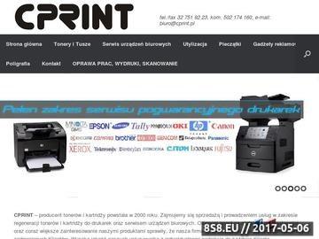 Zrzut strony Tusze, tonery, serwis drukarek