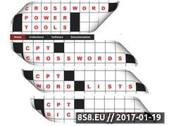 Thumbnail of Crossword Power Tools Website