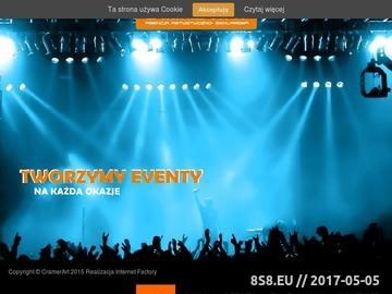 Zrzut strony Organizacja imprez, imprezy dla firm