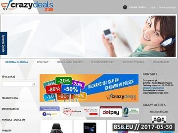 Zrzut strony Internetowy sklep z elektroniką