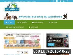 Miniaturka domeny crazyworldpets.pl