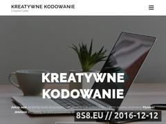 Miniaturka domeny creativecoder.pl