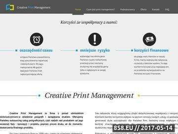Zrzut strony Druk oraz usługi graficzne