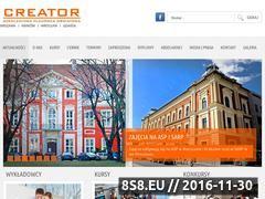 Miniaturka domeny www.creator.net.pl