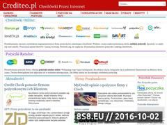 Miniaturka domeny crediteo.pl
