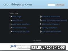 Miniaturka domeny cronaldopage.com