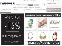 Miniaturka domeny www.crystalove.pl