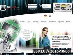 Miniaturka domeny www.cs-lab.eu