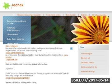 Zrzut strony Tworzenie stron WWW - CSIN Jakub Samulski, Gdynia