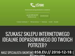 Miniaturka domeny cstore.pl