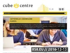Miniaturka domeny www.cubecentre.com
