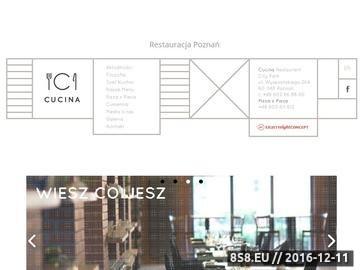 Zrzut strony Restauracja Poznań