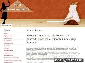 Zrzut strony Remonty i meble na wymiar oraz poprawki krawieckie Warszawa