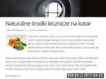 Zrzut strony Żyj zgodnie z grupą krwi - cudownenoni.pl