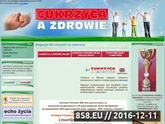Miniaturka domeny cukrzycaazdrowie.pl