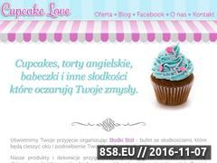 Miniaturka domeny cupcakelove.pl