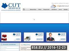 Miniaturka domeny www.cutservice.pl